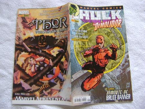 hulk & demolidor nº1 fevereiro 2003 panini banca!