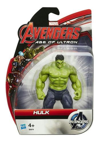 hulk figura 10cm. avangers age of ultron. original de hasbro