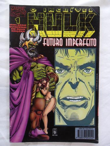 hulk futuro imperfeito nº 1! ed. abril 1996!