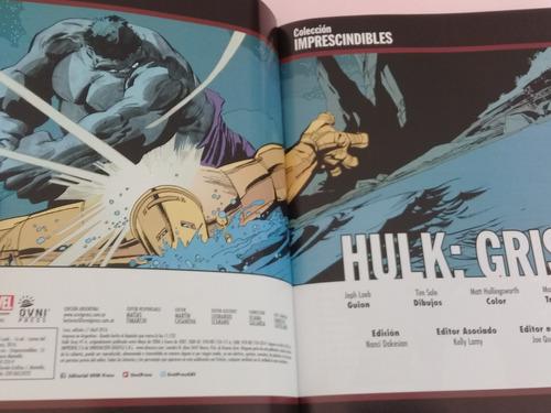 hulk gris imprescindibles de marvel ovnipress castellano