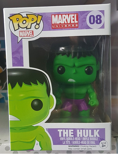 hulk - marvel - avengers - boneco funko pop
