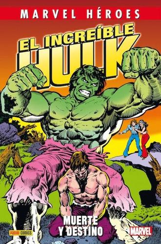 hulk muerte y destino - marvel panini comics - robot negro