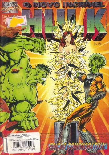 hulk nº 150, ed. abril edição comemorativa história completa
