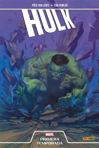 hulk primera temporada - marvel panini comics - robot negro