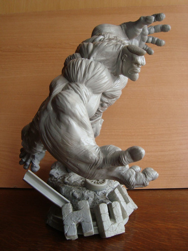 hulk running escultura para pintar