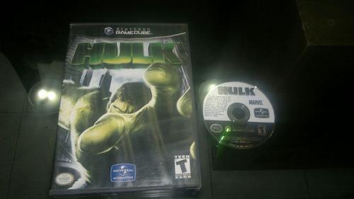 hulk sin instructivo para nintendo game cube,excelente titul