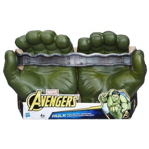 hulk super puños guantes avengers marvel e0615 hasbro