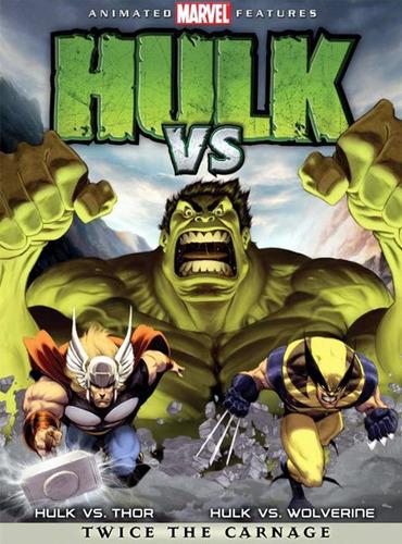 hulk vs thor hulk vs wolverine dvd marvel comics