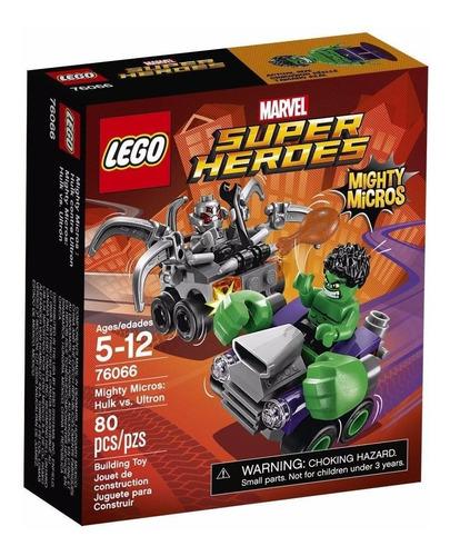 hulk vs ultron  - lego mighty micros super héroes
