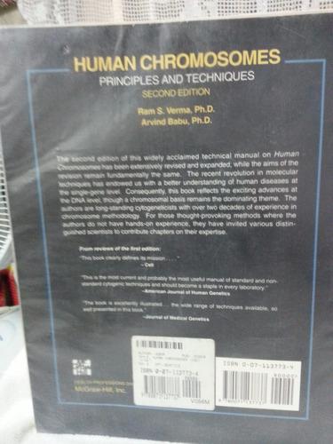 human chromosomes - ram s. verma / arvind babu em inglês
