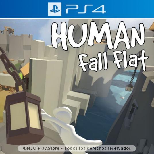 Human Fall Flat Juego Ps4 Cooperativo Multijugador Estreno 299