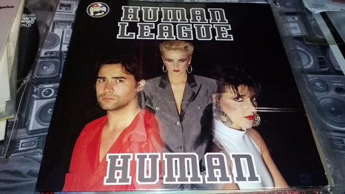 human league human vinilo maxi impecable europe