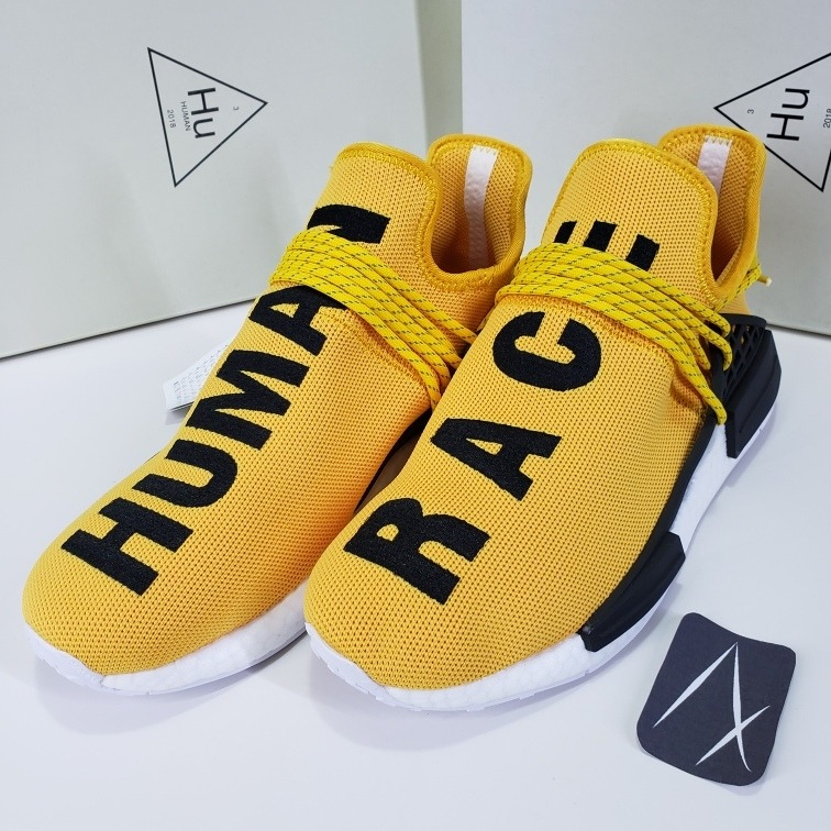 uk availability dfbf5 49189 Human Race Yellow Amarillo adidas Nmd Pharrell Williams Clay