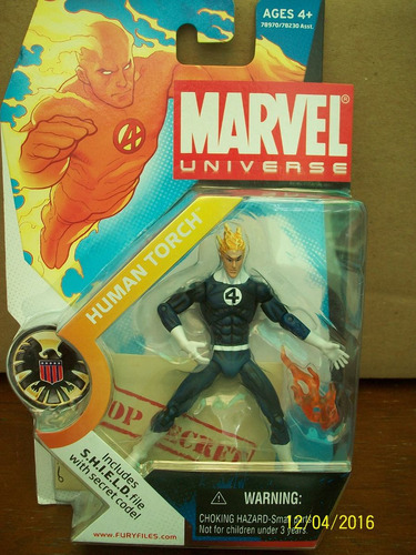 human torch marvel universe serie 1