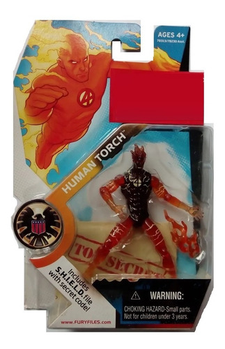 human torch no.007 marvel universe serie 1