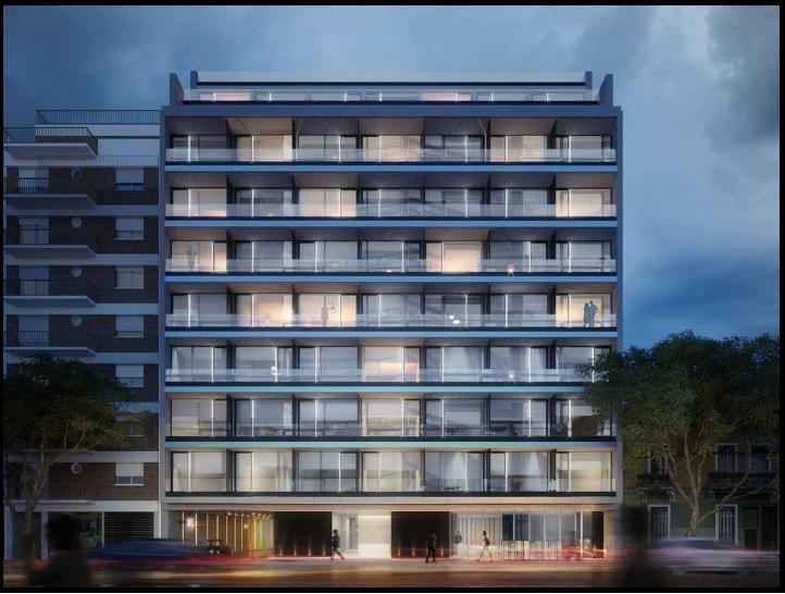 humboldt 2300 dos ambientes con patio y balcón