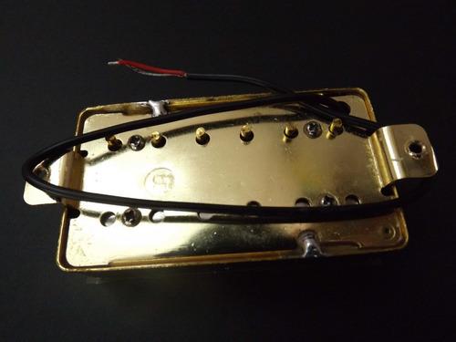 humbucker dorados set con marcos profesionales