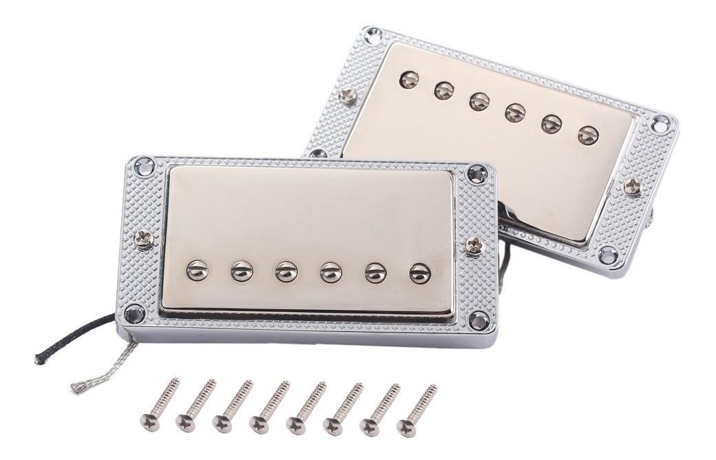 Humbucker Pickups De Guitarra Cuello Puente Pastilla