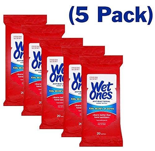 húmedo ones toallitas manos cara paquete viaje 20 unidades p