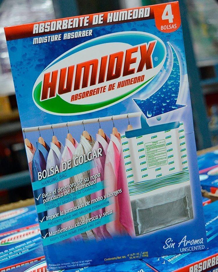 74a9ced6d Humidex Absorbente Humedad 4 Und X 420 G - $ 35.900 en Mercado Libre