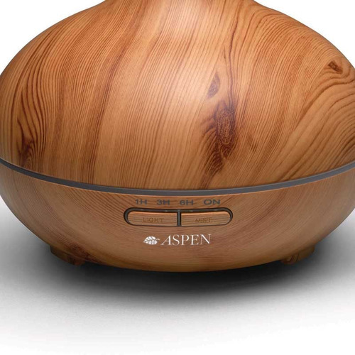 humidificador aromatizador aspen pure bambu aroma ambiente