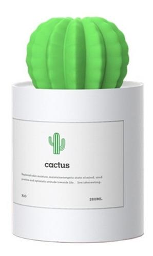 humidificador de aire en forma de cactus recargable 280ml