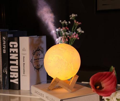 humidificador de aire, lampara de luna 3d