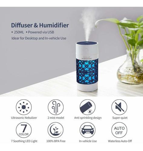 humidificador de niebla fría, usb portátil humidificado...