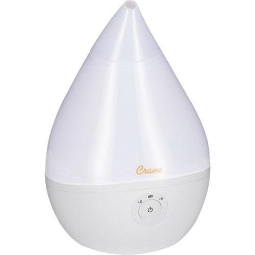 humidificador de vaporización fría de .5 galones blanco