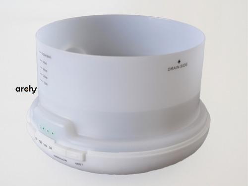 humidificador difusor aromas 500 ml 7 luces aceite gratis