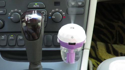 humidificador difusor auto aromaterapia