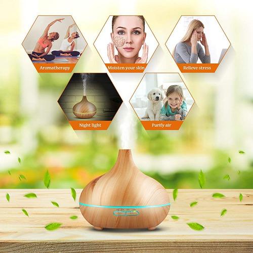 humidificador difusor de aceite esencial de aroma ultrasónic