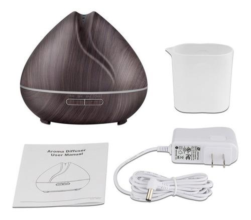 humidificador difusor de aroma 400ml +regalo aceite esencial