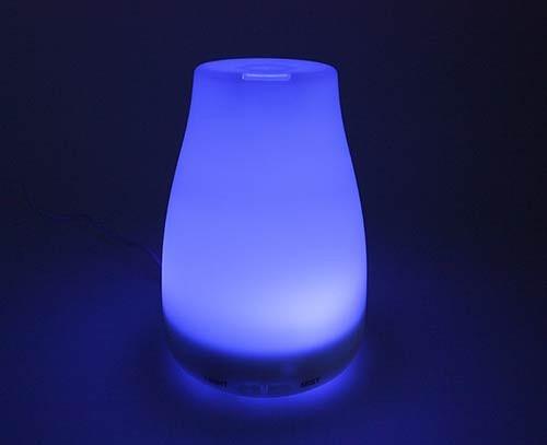 humidificador difusor de aromas 100 ml led +esencia regalo