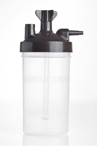 humidificador plastico psi 6 para oxigeno