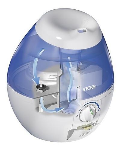 humidificador vaporizador ultrasónico vick vapor frío 1,8lts