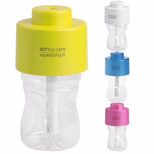 humificador universal botella vaporizador c luz aromaterapia