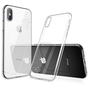 humixx Funda iPhone 7 Funda iPhone 8 Caso Cristal Claro Funda de