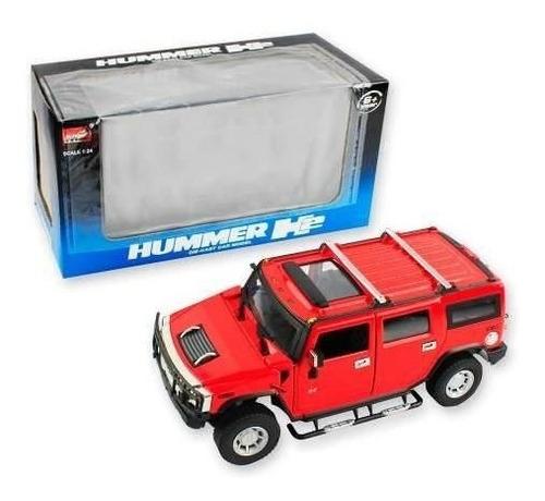 hummer h2 rojo / rebajas r3755