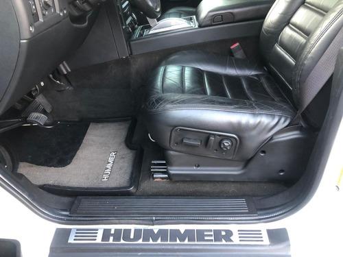 hummer - h2 sut 325cv v8 4x4 blindada financiamos pelo cnpj