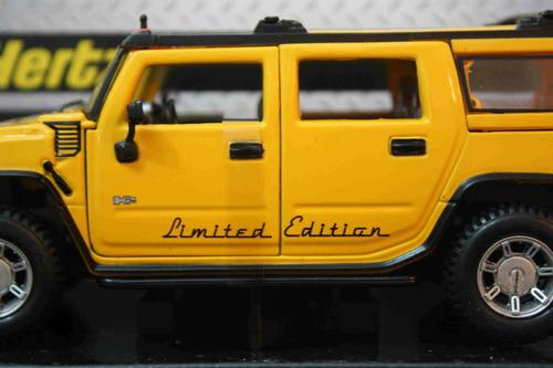 hummer limited edition - hertz corp - 2010 - 1:27 - maisto