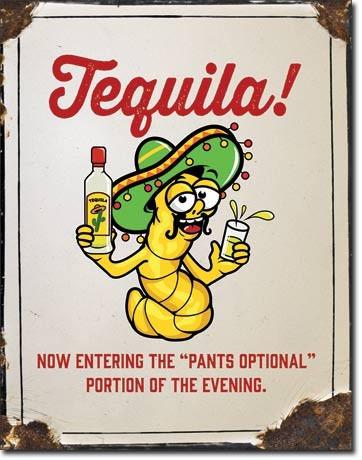 humor de bar tequila  poster lamina metal retro vintage anu