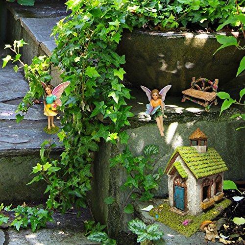Humor Laboratorio Hada Garden Hada Casa - Miniatura Hada Gar ...