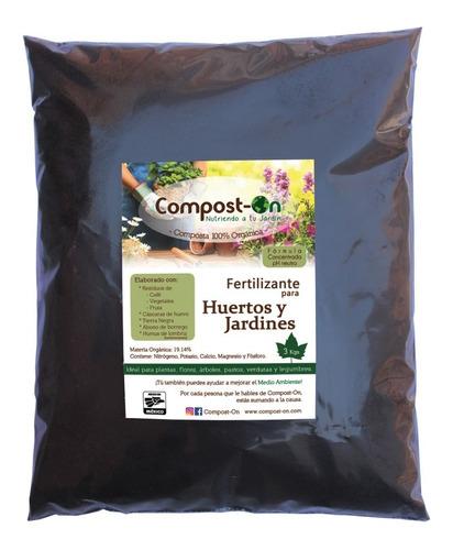 humus de lombriz compost-on 3 kgs composta