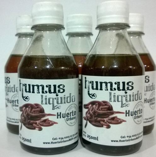 humus liquido 250 ml - fertilizante orgánico