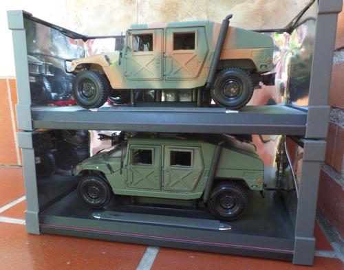 humvee militar 2 modelos de colección leer descripción