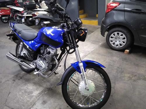 hunter 150 by corven 2016 azul titular dueño vende idem 0km