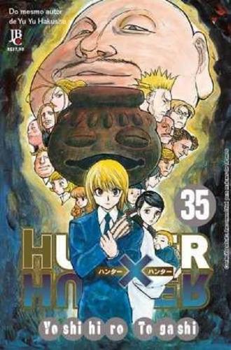 hunter hunter - vol 35 - jbc