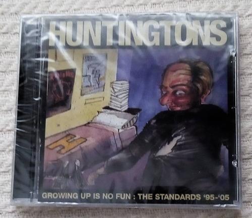 huntingtons - growing up is no fun ( ramones c d ed. u s a)