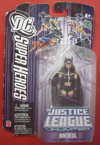 huntress - justice league - dc - mattel - action figure